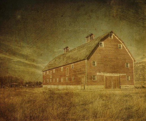 red barn standing | by jssteak