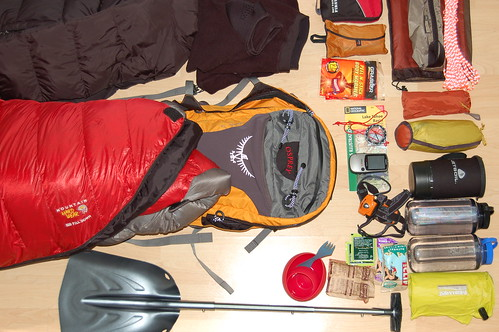 Gear for lightweight snow camping | by Ross