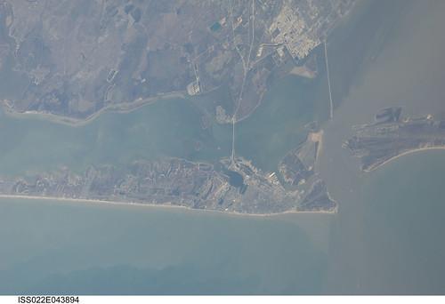 Galveston, Texas (NASA, International Space Station Scienc ...