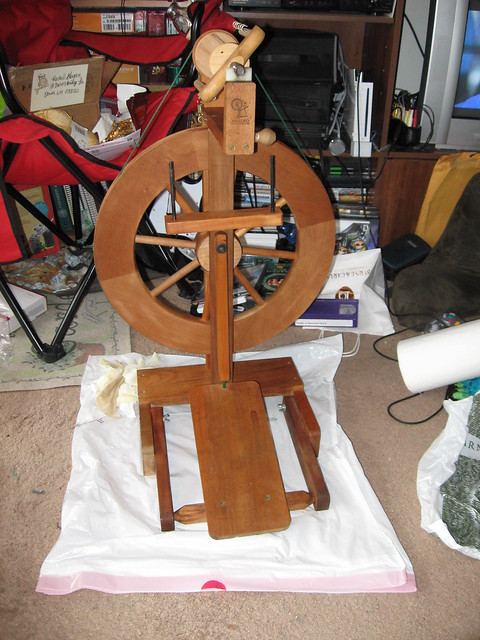 New Spinning Wheel!