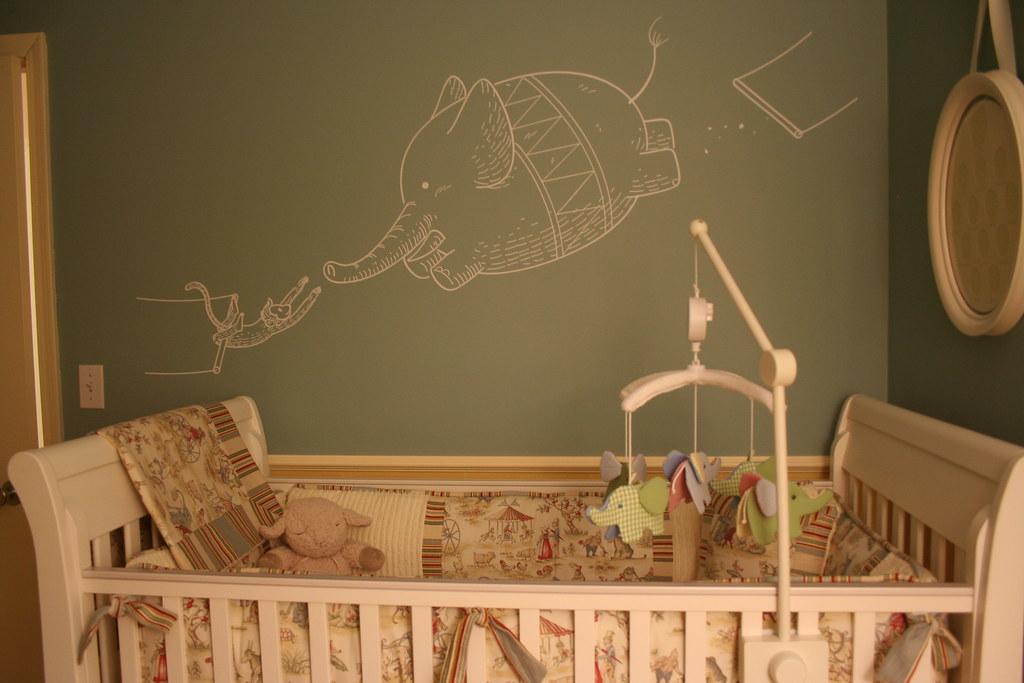Blik Wall Art - Elephant and Monkey Trapeze Artists | Flickr