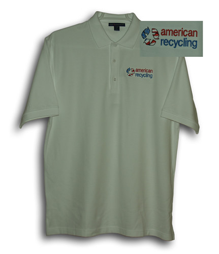 Embroidered Polo Shirt With Company Logo