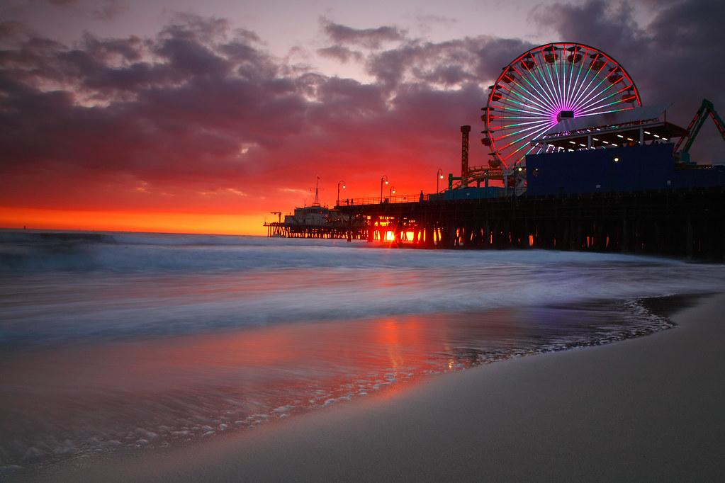 Santa Monica Pier Hotels On The Beach