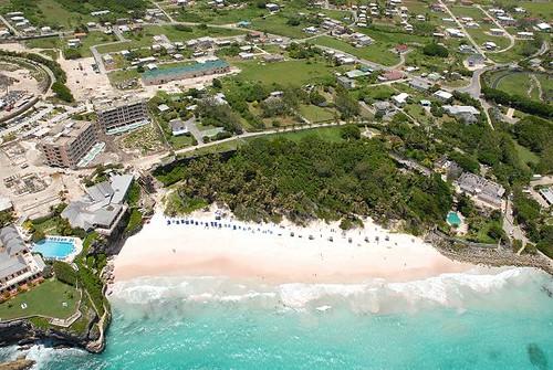 Crane Beach Map Barbados