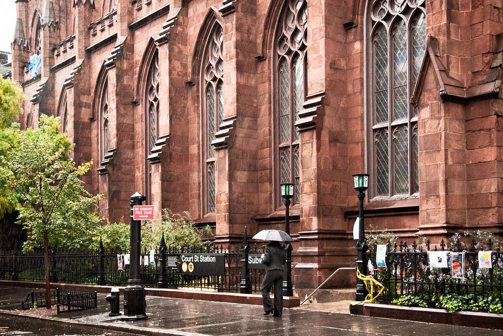 Rainy Day St Ann And The Holy Trinity Episcopal Church