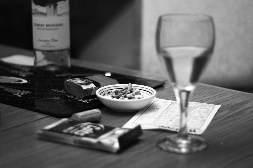 Cigarettes and Alcohol   Enjoying some beverages after Easte…   Flickr