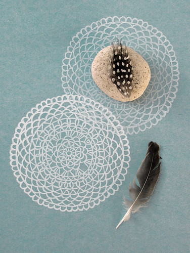 Stamped Doily | by Geninne