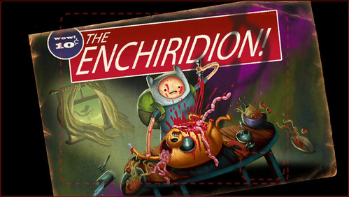 "Unused ""The Enchiridion!"" Title Card (The Butcher Card) 