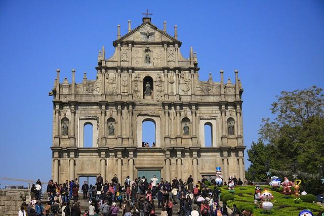 The Ruins of St. Paul - Ruinas de Sao Paulo | The Ruins of