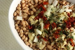 Healthy. Delicious. White Bean Salad | by CinnamonKitchn