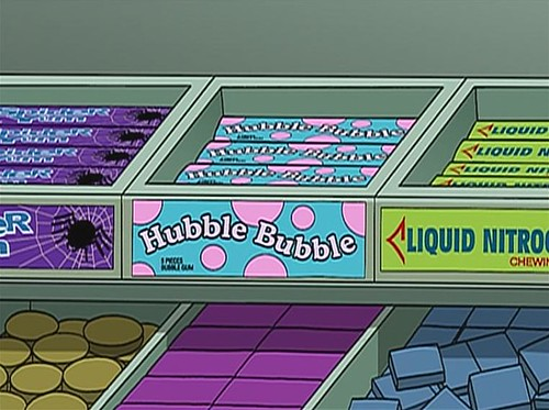 Hubble Bubble chewing gum in Futurama | by Seanie Morris