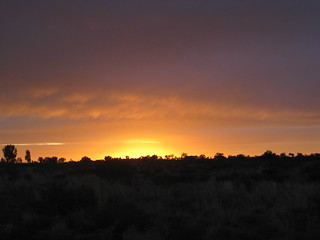 Sunrise near Uluru | by David Ashford