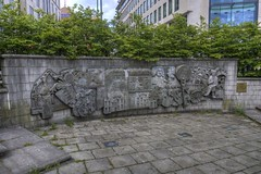 """Sculpture """"Old Square"""", Birmingham"""