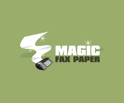 Magic Fax Paper Logo Design : www.designerkan.com - www.graf ...
