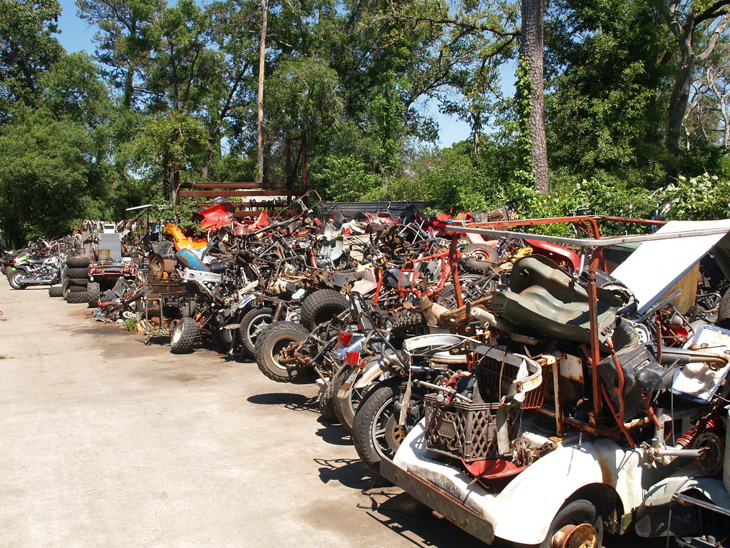 Channelview Texas motorcycle salvage yards Land's Cycles 2 ...