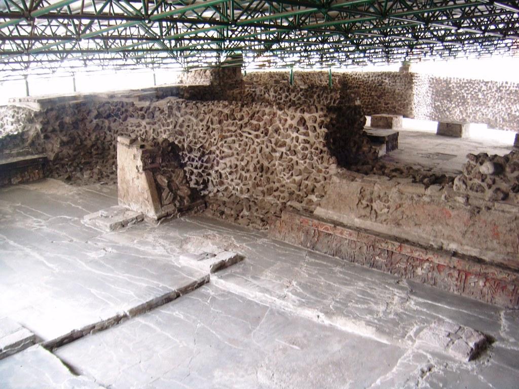 Casa de las guilas templo mayor se observan los valiosos flickr Casa en aguilas