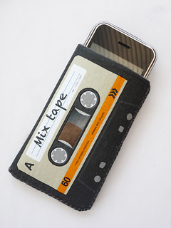 Orange Cassette Tape iPhone Case by CrankCases | by CrankCases