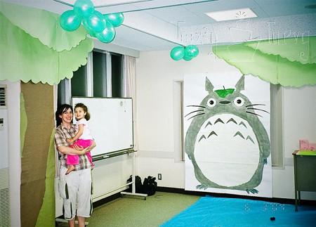 totoro 3rd birthday party decoration | imtopsyturvy.com ...
