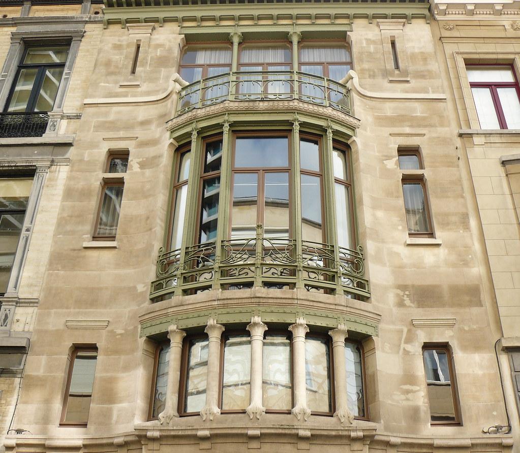 htel Bruxelles art nouveau Belgique Ixelles