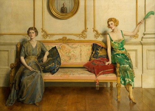 Oil Painting Sacred And Profane Love By Sir John Collier