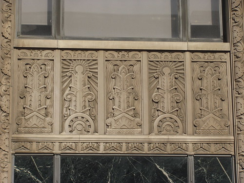 Art Deco Terra Cotta Ornamentation of Kansas City Power and Light Building - KC, MO_IMG_9014 | by Wampa-One
