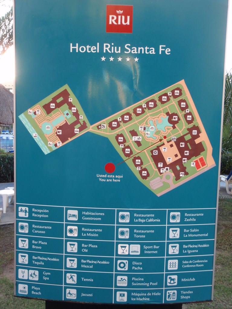 Map Of Riu Santa Fe  Mc4916  Flickr