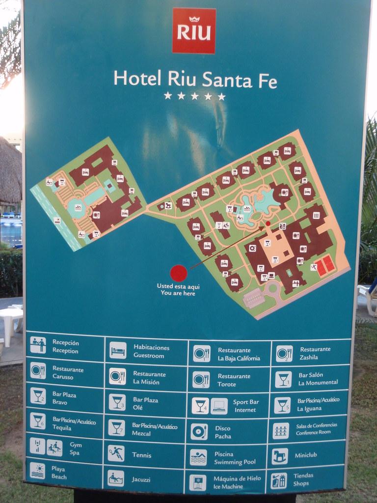 Map Of Riu Santa Fe Mc4916 Flickr