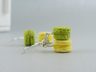 Green Tea and Thyme Macarons | by Shay Aaron