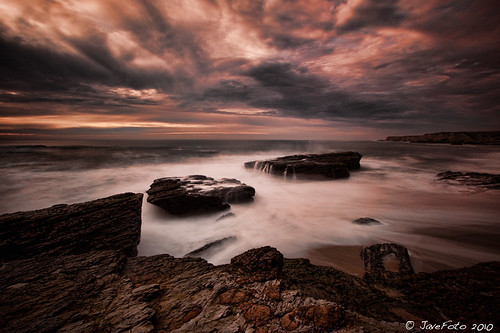 Moody - Hole in the wall beach, Davenport, CA | by JaveFoto