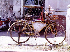 Bike repair, 1978 | by sardinista