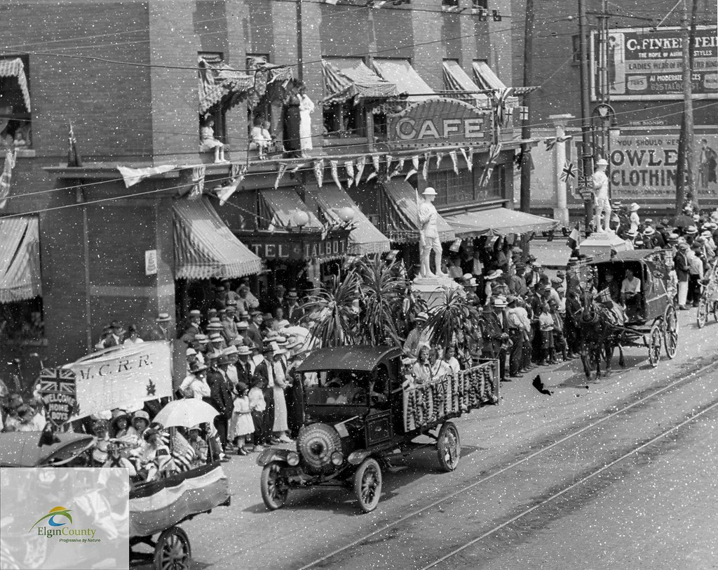Get Free Credit Report >> Peace Day Parade, Talbot Street, St. Thomas, July 19, 1919… | Flickr