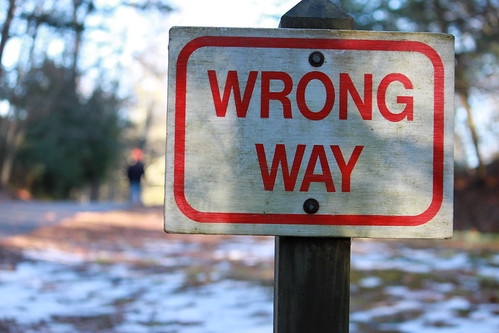 Wrong Way | by Jack Zalium