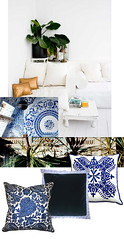 Blue and White Tropical Master Bedroom Decor Inspiration -middle | by ...love Maegan