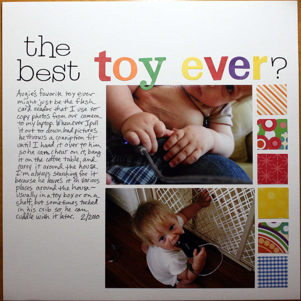 Best Toy Ever : The best toy ever i really did not feel like making a