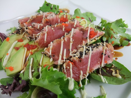 Pan-Seared Sesame-Crusted Tuna | by swampkitty