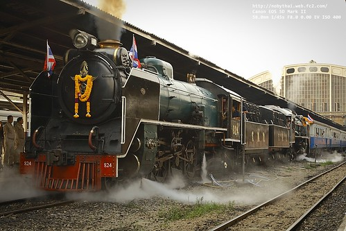 Departure time : State Railway of Thailand (SRT) Anniversary Day | by Nobythai