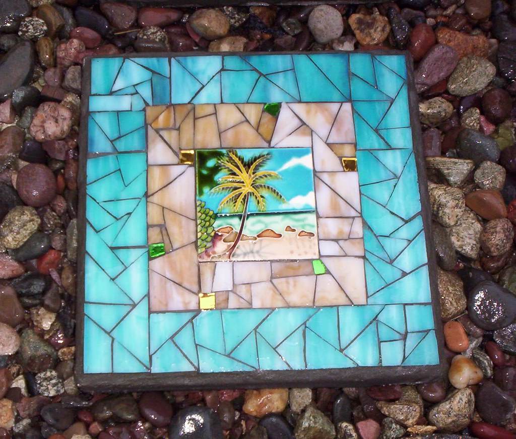 Mosaic Stepping Stone Another Easter Gift No