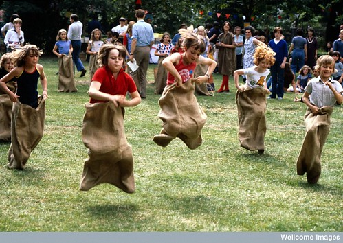 Primary school children, sports day by Anthea Sieveking , Wellcome Images | by dullhunk