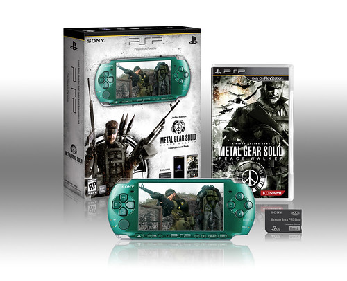 METAL GEAR SOLID: PEACE WALKER PSP Entertainment Pack | by PlayStation.Blog