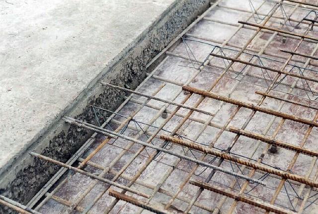 Concrete cast in situ | Loughborough University Business Sch… | Flickr