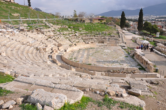 Theatre of Dionysus  Flickr - Photo Sharing!