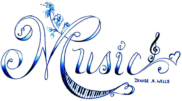 music tattoo design by denise a wells flickr photo sharing. Black Bedroom Furniture Sets. Home Design Ideas