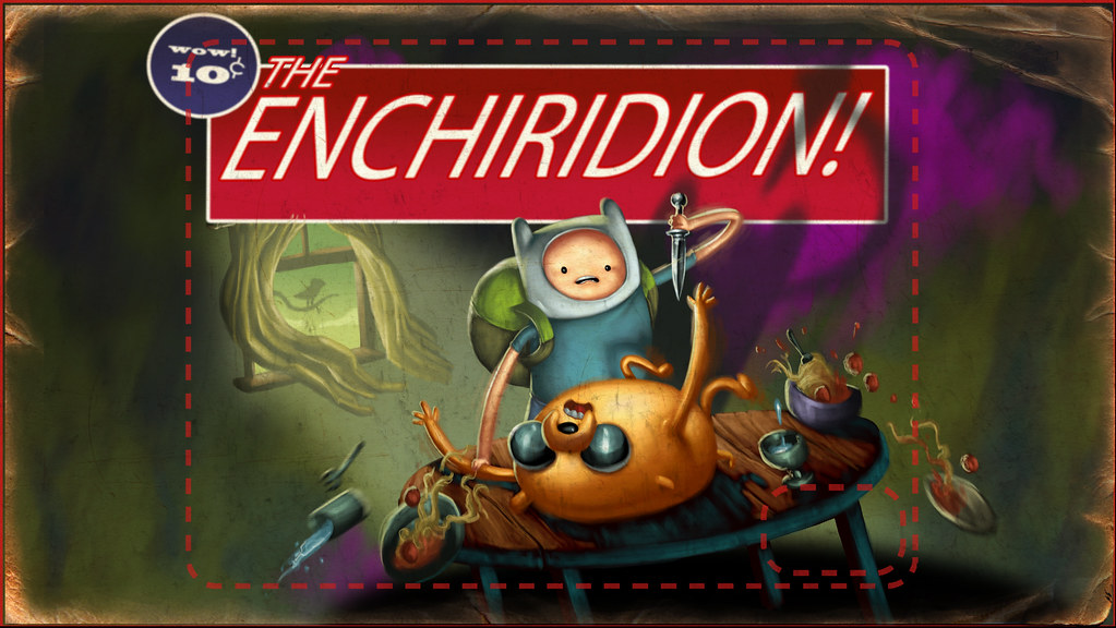 Rejected Title Card For Quot The Enchiridion Quot For Pendleton