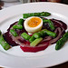 egg & beet salad
