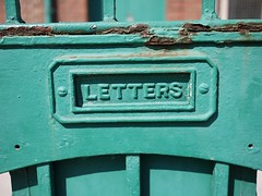 Rusty Letters | by Victor Trent