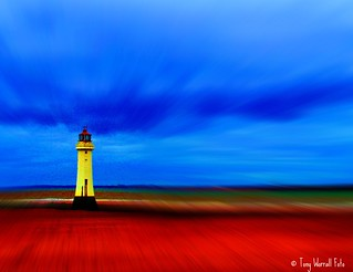 Perch Rock Lighthouse at New Brighton (3) | by Tony Worrall