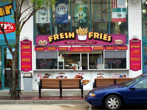 Fresh Fries Food Stand Downtown Wisconsin Dells Mark