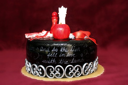 Twilight Cake Book Quotes Handwritten All Around The