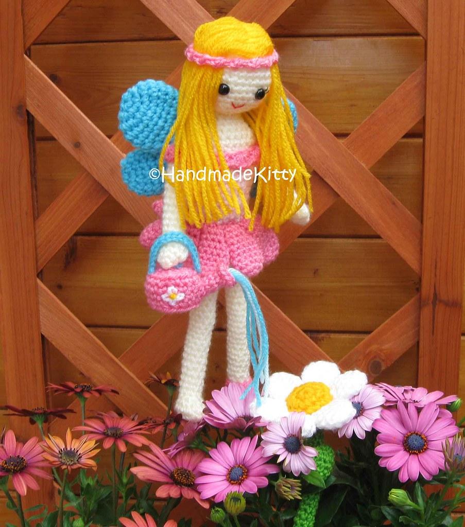 Garden Fairy Amigurumi Crochet Pattern By HandmadeKitty