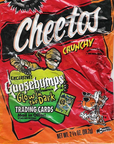 Cheetos Crunchy | This is the bag I dug up last week that ap ...